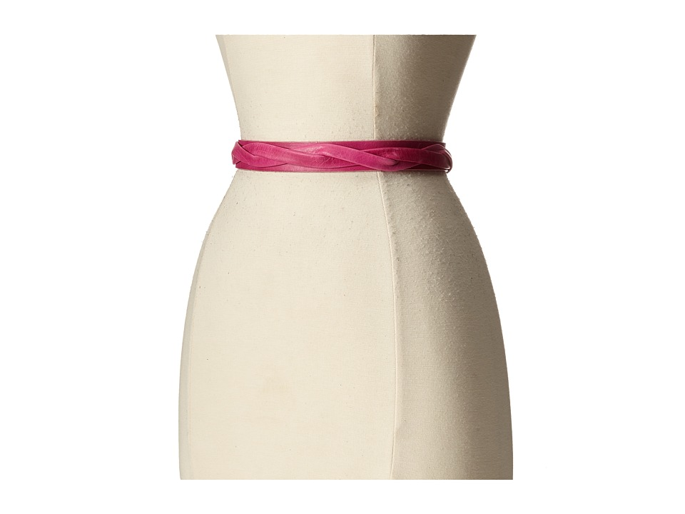 ADA Collection Skinny Wrap Belt Fuchsia Womens Belts