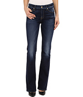 7 For All Mankind - Kimmie Bootcut with Distress in Mykonos Dark Indigo
