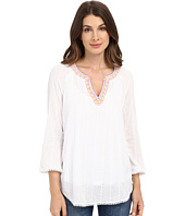 NYDJ - Embelished Gauze Blouse