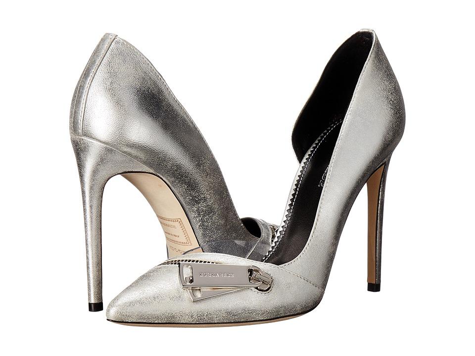 DSQUARED2 - Zipper Pump (Silver) Women