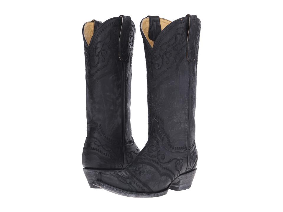Old Gringo Sintra Black Cowboy Boots