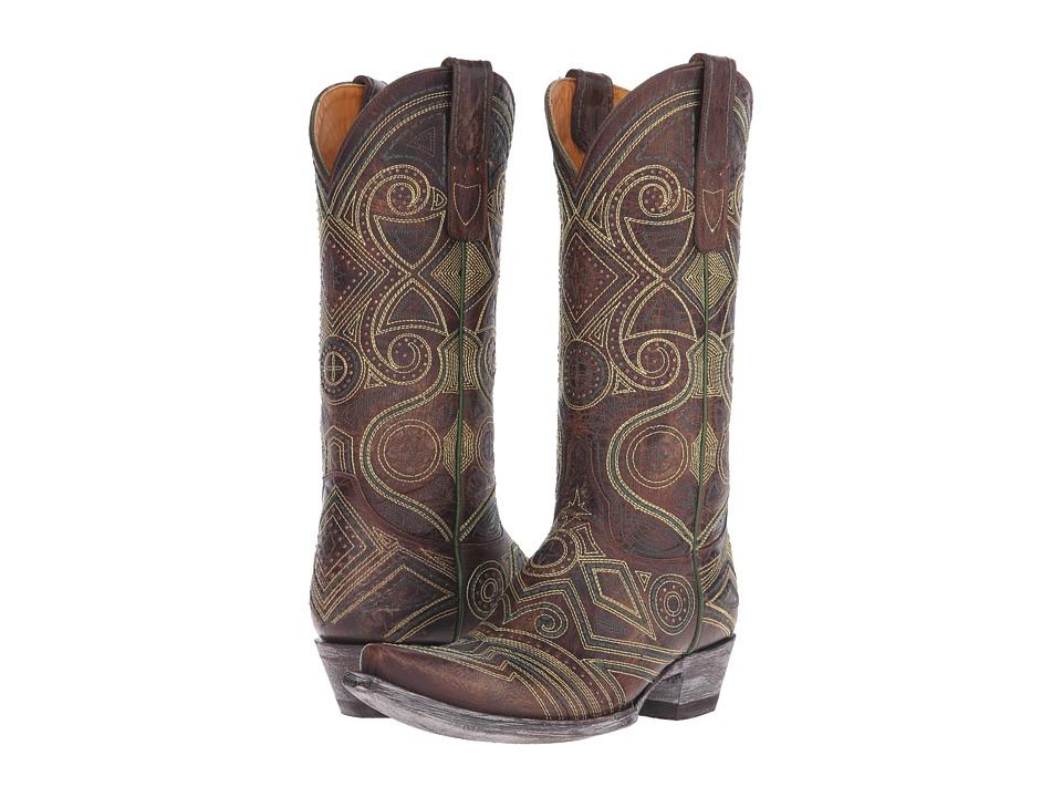 Old Gringo Lerida Brass Cowboy Boots