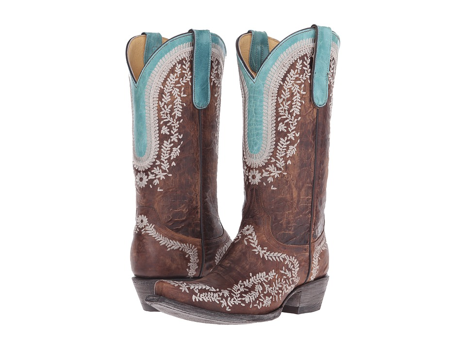 Old Gringo Bengala (Brass) Cowboy Boots