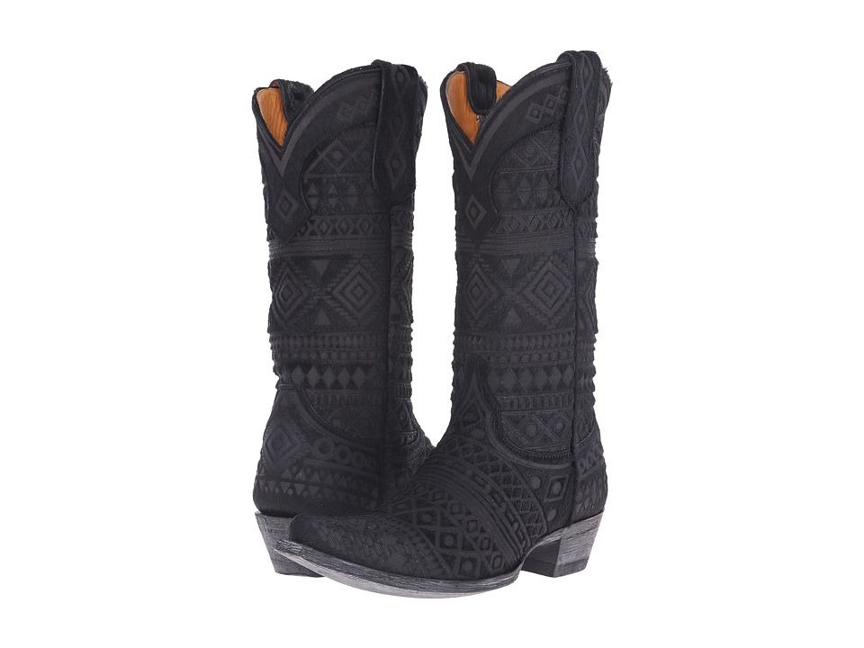 Old Gringo - LS Zorril (Black) Cowboy Boots