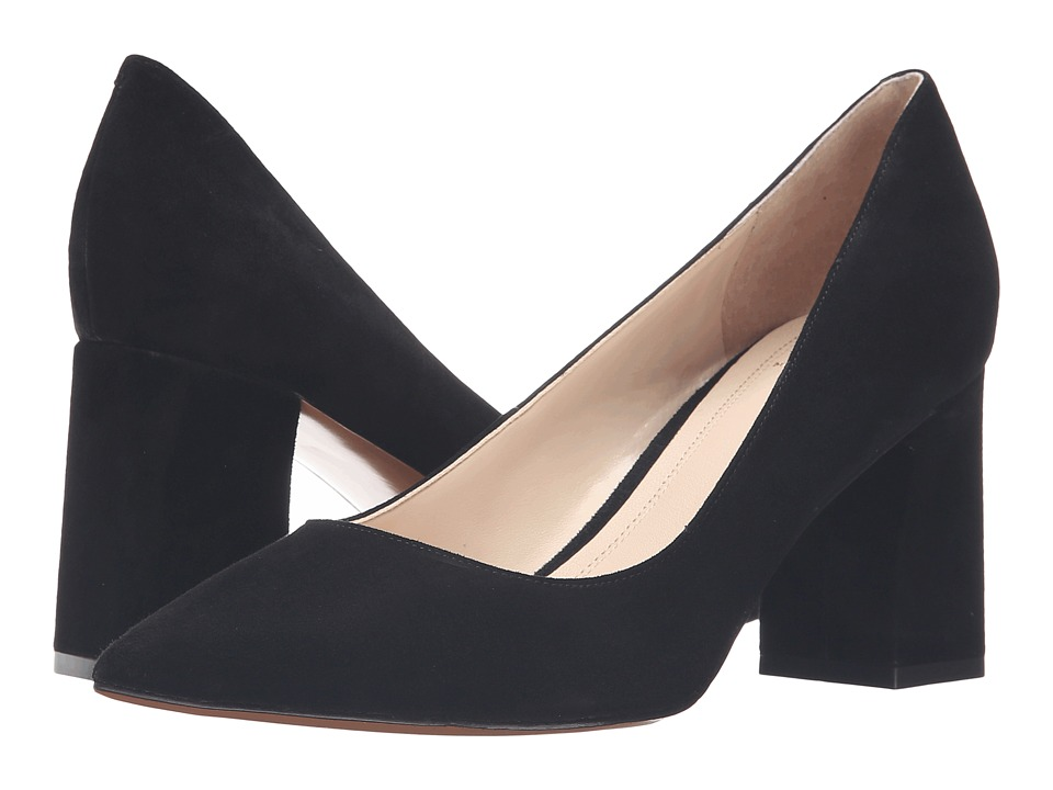 Marc Fisher LTD - Zala Pump (Black Suede) Women's Shoes
