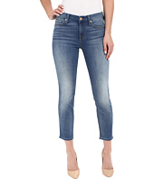 7 For All Mankind - Kimmie Crop in Supreme Vibrant Blue
