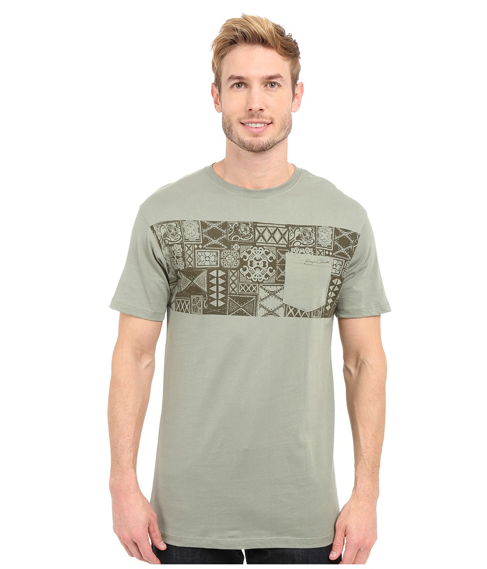 Jack ONeill Kuta Short Sleeve Screen Tee Army Mens Short Sleeve Pullover