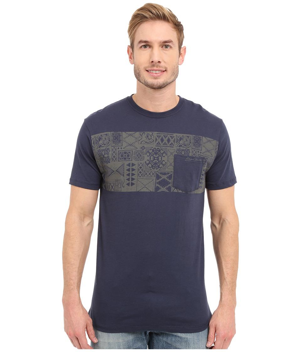 Jack ONeill Kuta Short Sleeve Screen Tee Navy Mens Short Sleeve Pullover