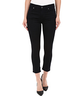 7 For All Mankind - The Capris with Tonal Squiggle in Featherweight Blackest Blue