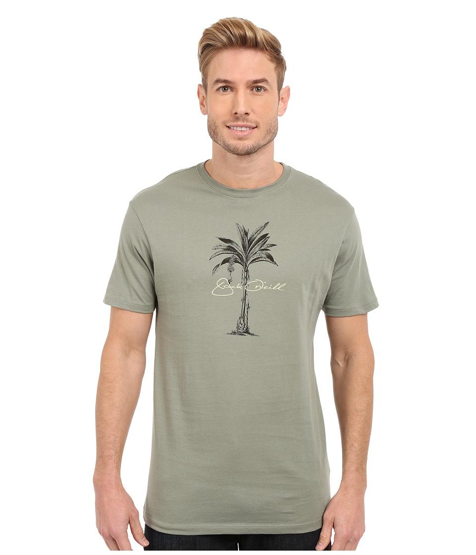 Jack ONeill Perennial Short Sleeve Screen Tee Army Mens Short Sleeve Pullover