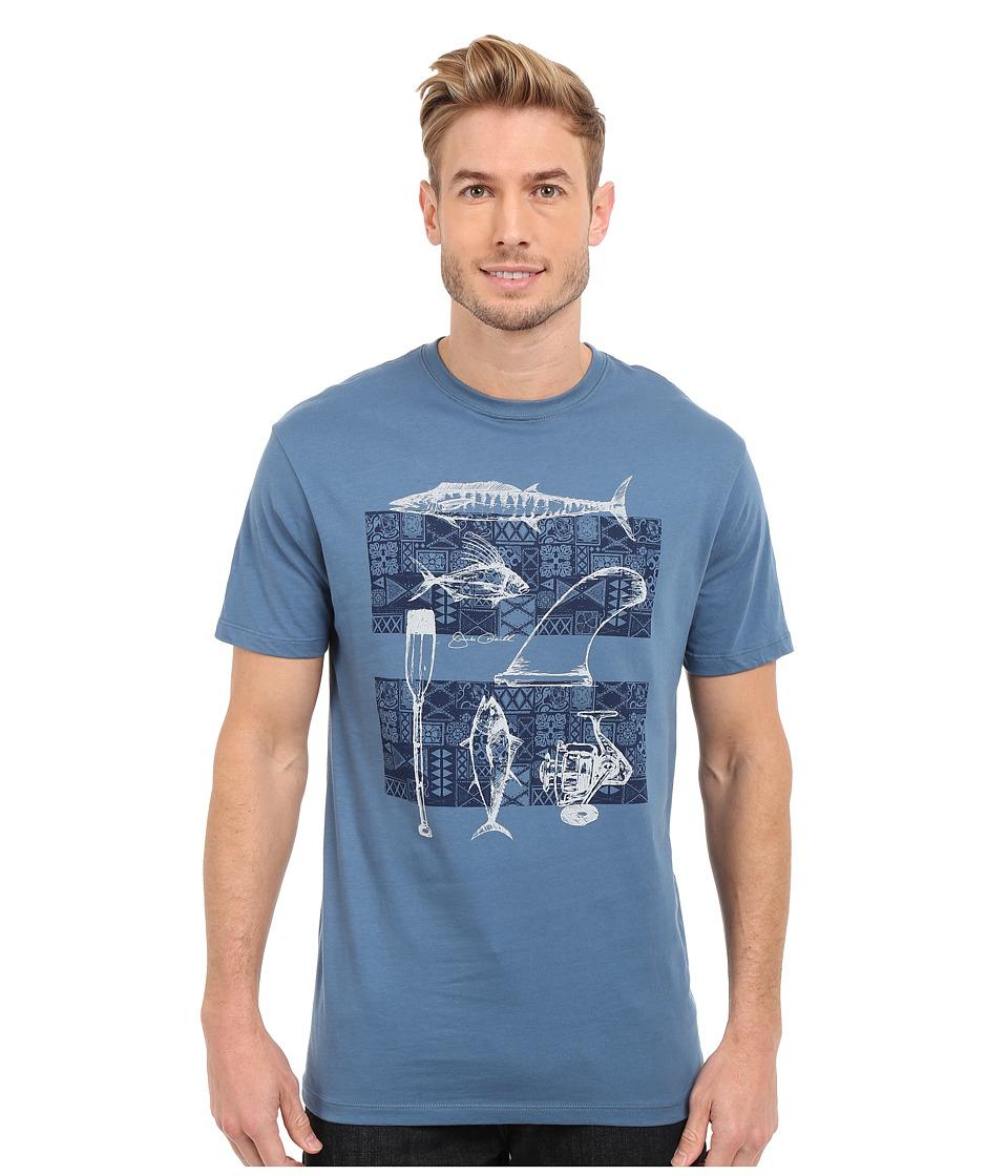 Jack ONeill Sterling Short Sleeve Screen Tee Dutch Blue Mens Short Sleeve Pullover