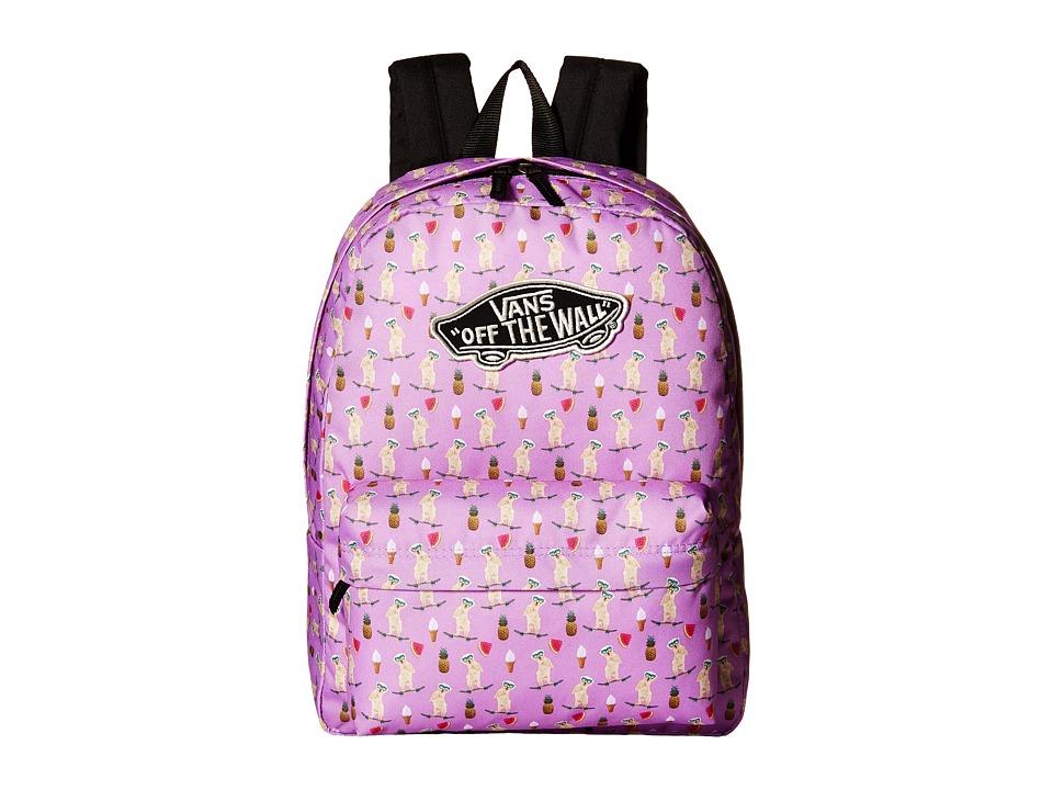 Vans - Realm Backpack (African Violet) Backpack Bags