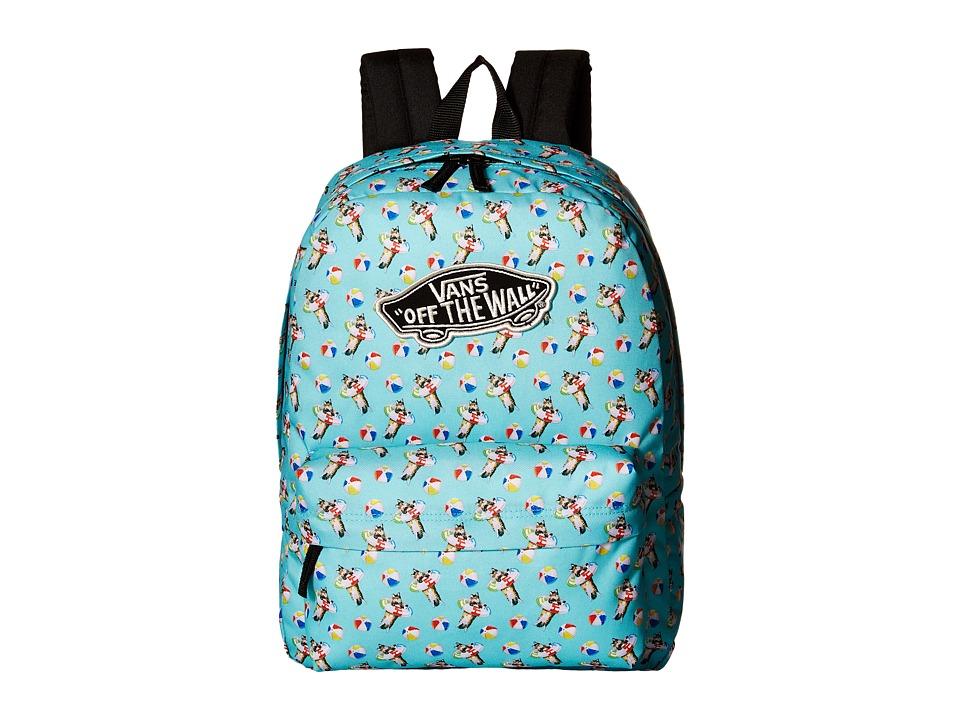 Vans - Realm Backpack (Aqua Sea) Backpack Bags