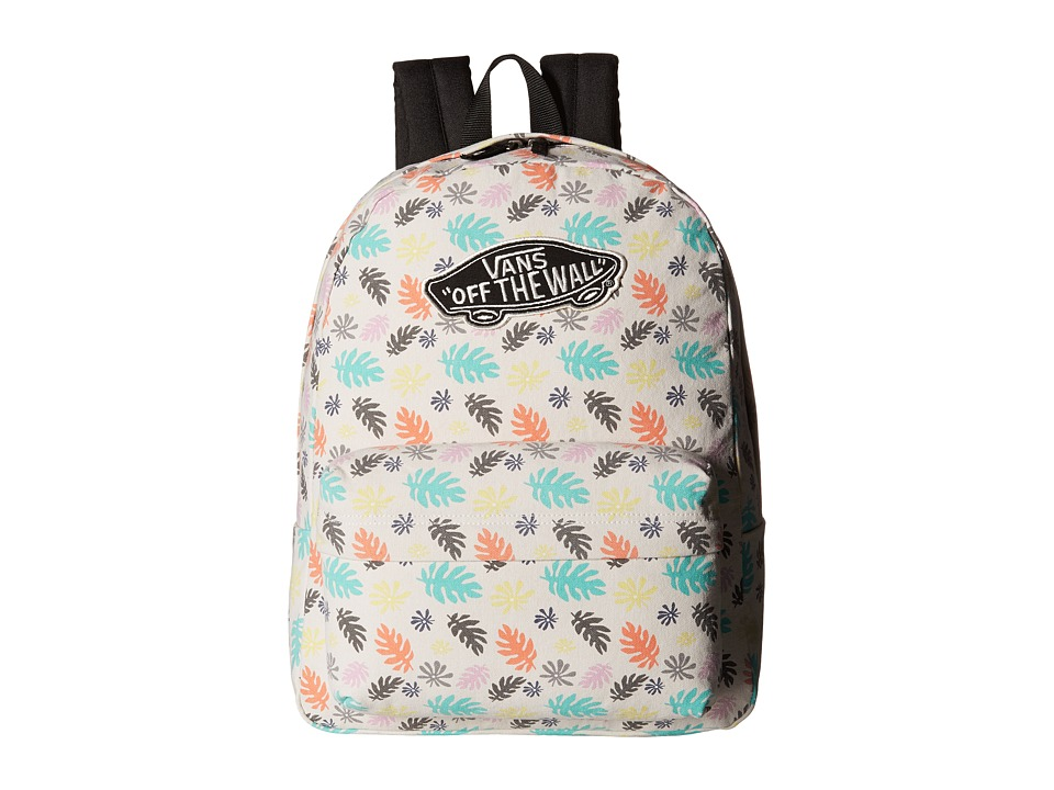 Vans - Realm Backpack (Washed Kelp Multi/White) Backpack Bags