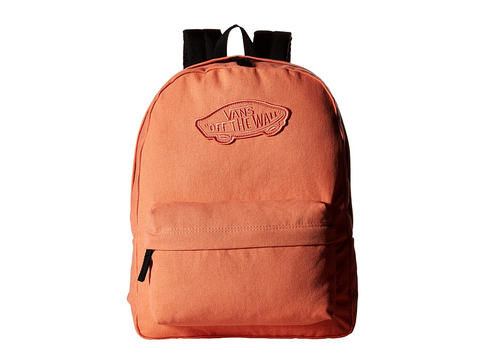 Vans - Realm Backpack (Fusion Coral Washed) Backpack Bags