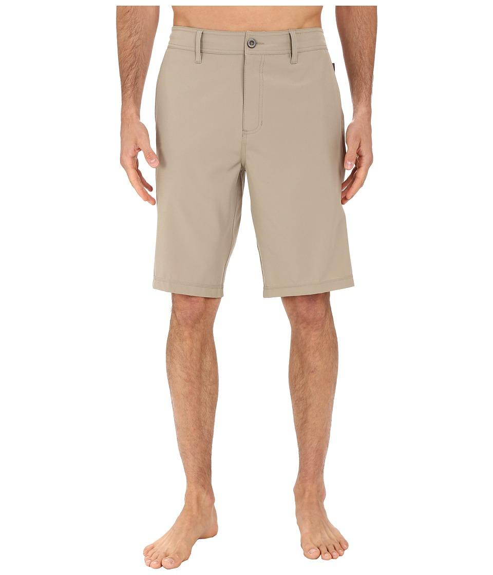 Jack ONeill A Frame Solid Boardshorts Khaki Mens Shorts