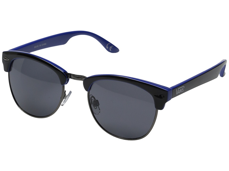 Vans Sound Systems Sunglasses Black/Dazzling Blue Fashion Sunglasses