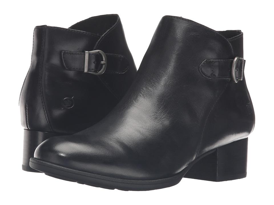 Born Phobos (Black Full Grain Leather) Women