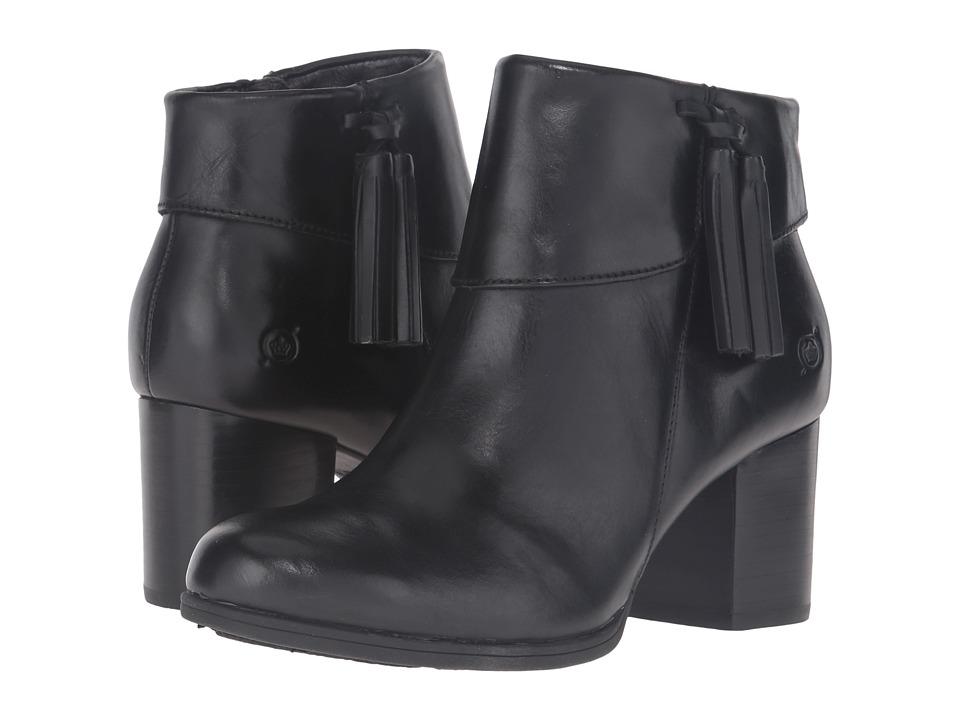 Born Mauvide (Black Full Grain Leather) Women