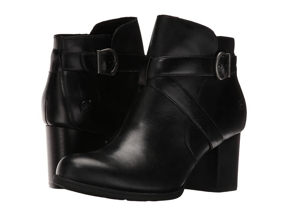 Born Carabel (Black Full Grain Leather) Women