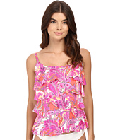 Miraclesuit - Persian Gardens Tiering Up Tankini Top