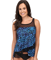 Miraclesuit - Purr-Fection Mirage Layered Tankini Top