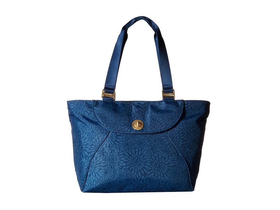 Baggallini Gold Alberta Tote Pacific Floral Tote Handbags