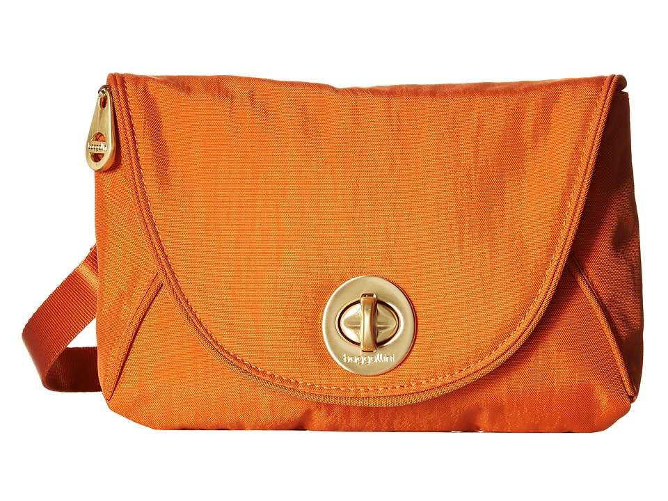 Baggallini Gold Seville Mini Papaya Cross Body Handbags