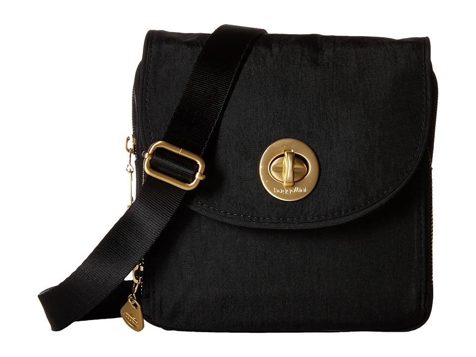 Baggallini Kensington Mini Black Cross Body Handbags