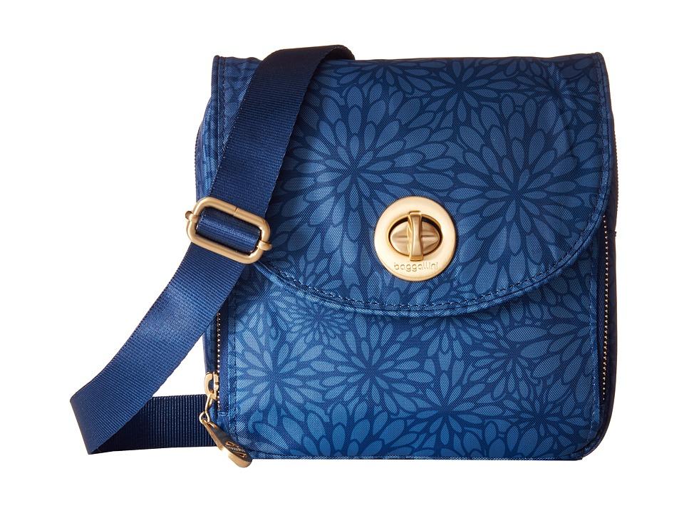 Baggallini Kensington Mini Pacific Floral Cross Body Handbags