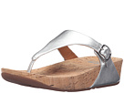 FitFlop - The Skinny Metallic (Silver)