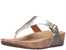 FitFlop - The Skinny Metallic (Pale Gold)