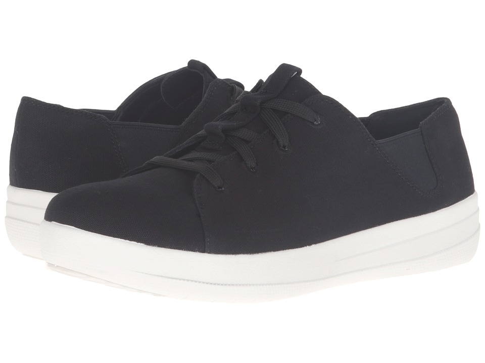 FitFlop Sporty Lace-Up Sneaker (Black) Women
