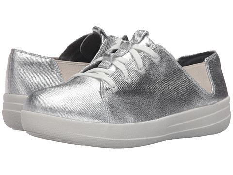 FitFlop Sporty Lace-Up Sneaker - Silver