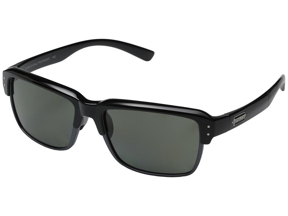 SunCloud Polarized Optics Port O Call Black/Gray Polarized Polycarbonate Goggles