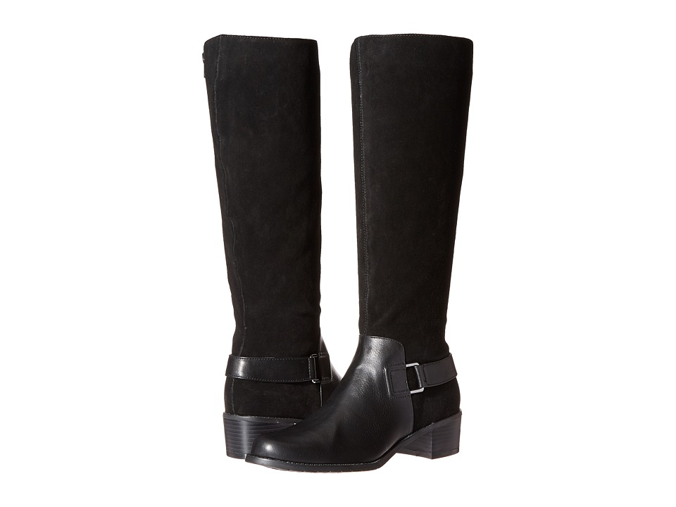 Image of Aerosoles - After Hours (Black Combo) Women's Pull-on Boots