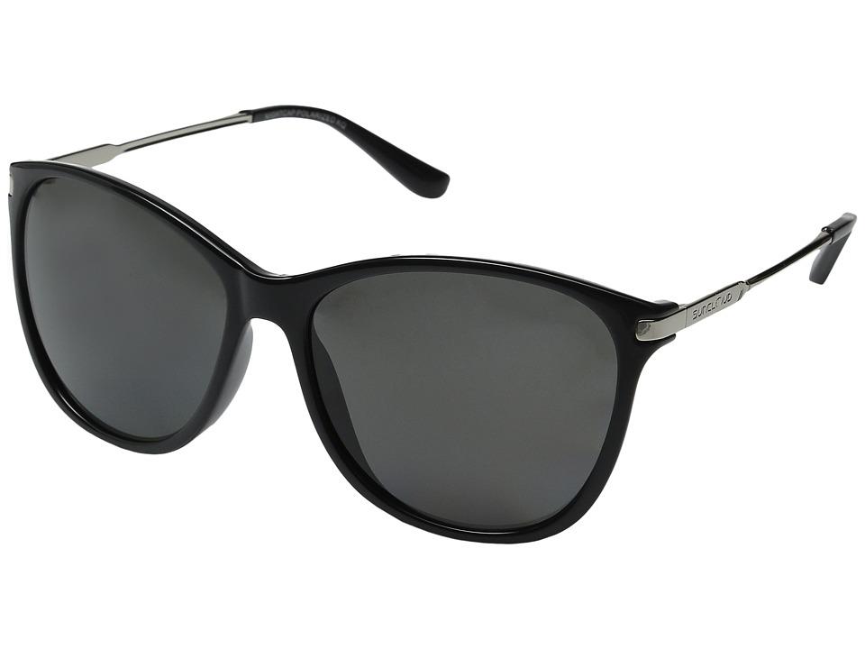 SunCloud Polarized Optics Nightcap Black/Gray Polarized Polycarbonate Goggles