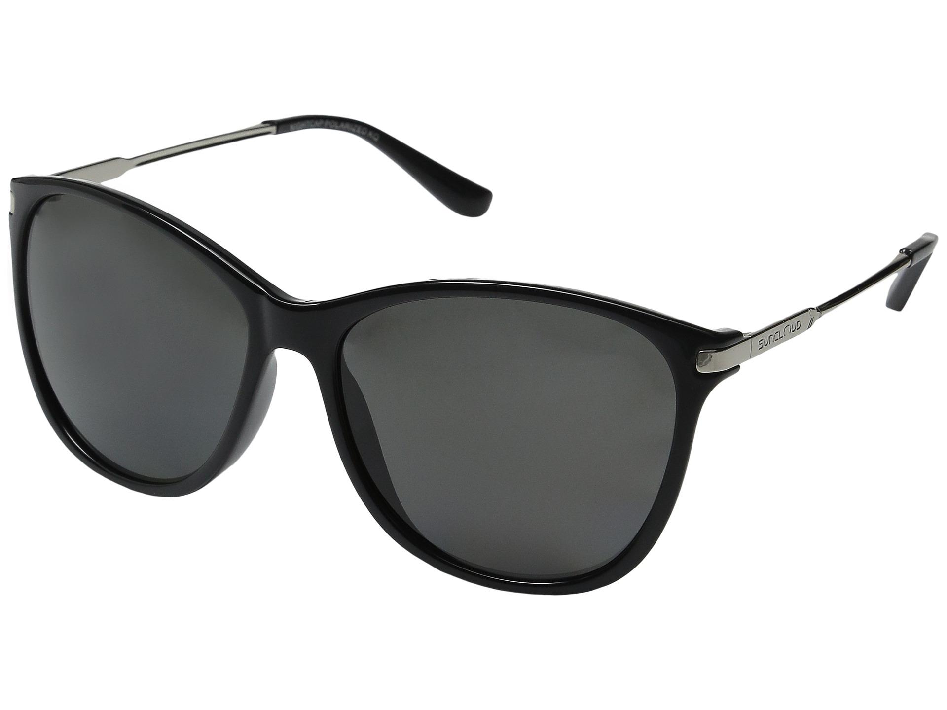 Suncloud Aviator Sunglasses  suncloud polarized optics nightcap zappos com free shipping both