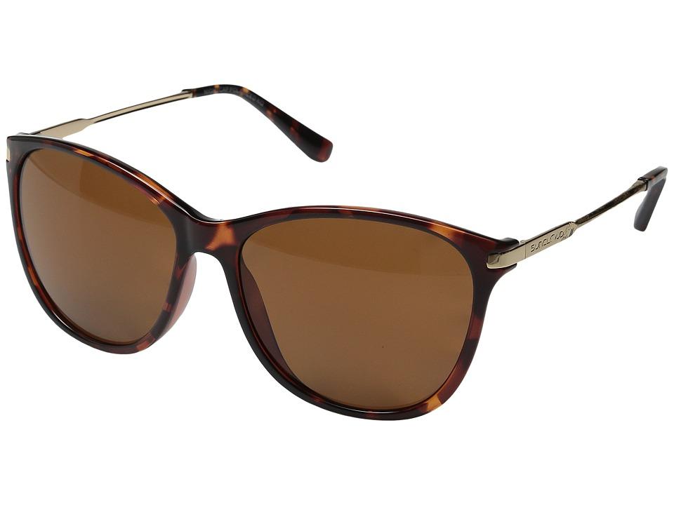 SunCloud Polarized Optics Nightcap Tortoise/Brown Polarized Polycarbonate Goggles