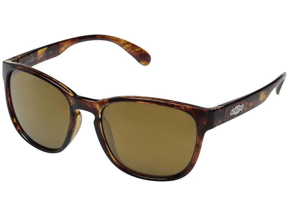 SunCloud Polarized Optics Loveseat Tortoise/Sienna Mirror Polarized Polycarbonate Goggles