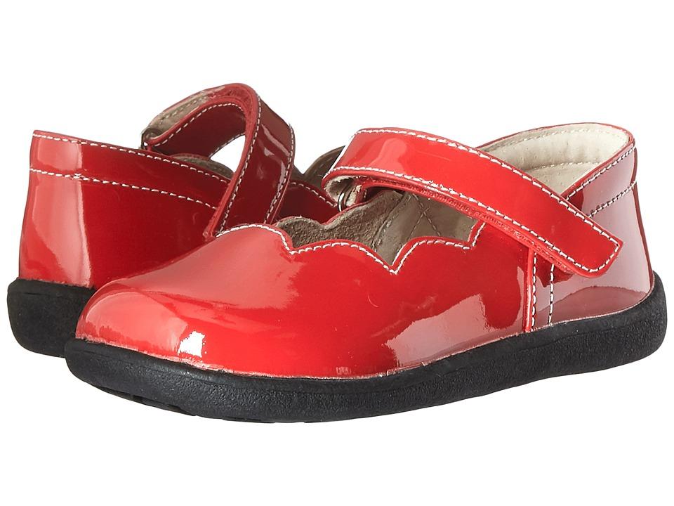 See Kai Run Kids Savannah (Toddler) (Red Patent) Girl's Shoes