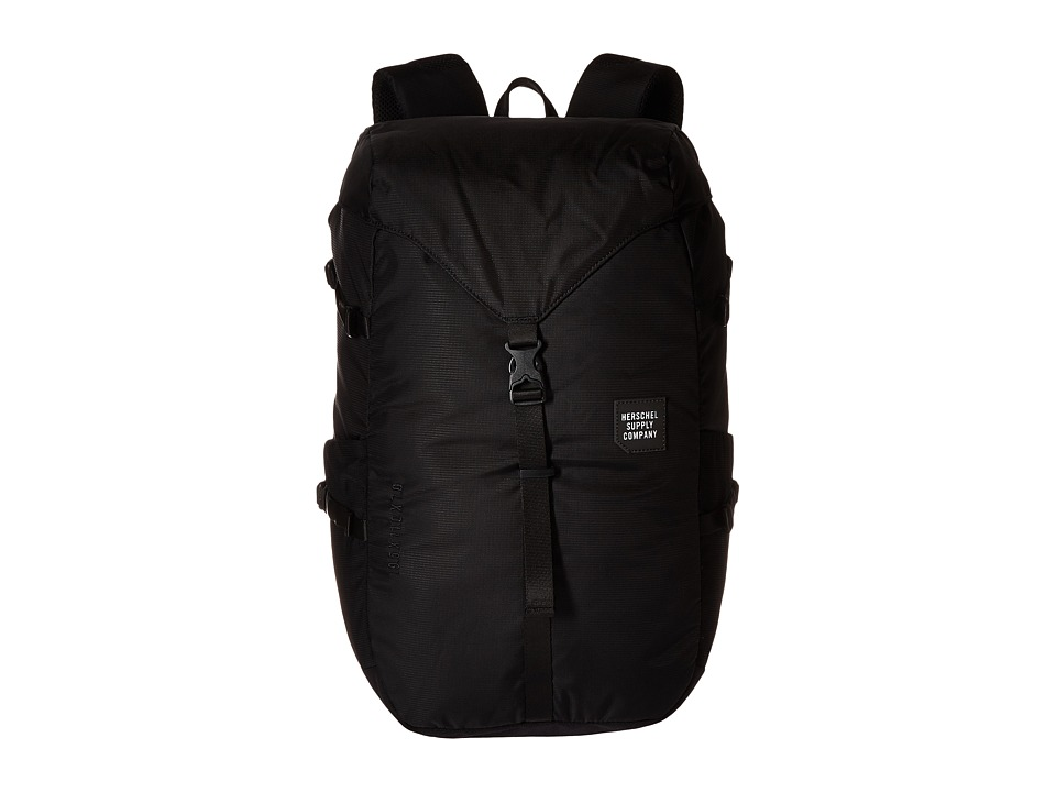 Herschel Supply Co. - Barlow Large (Black) Backpack Bags