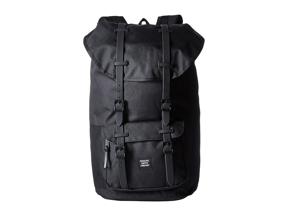 Herschel Supply Co. - Little America (Black/Black Rubber) Backpack Bags