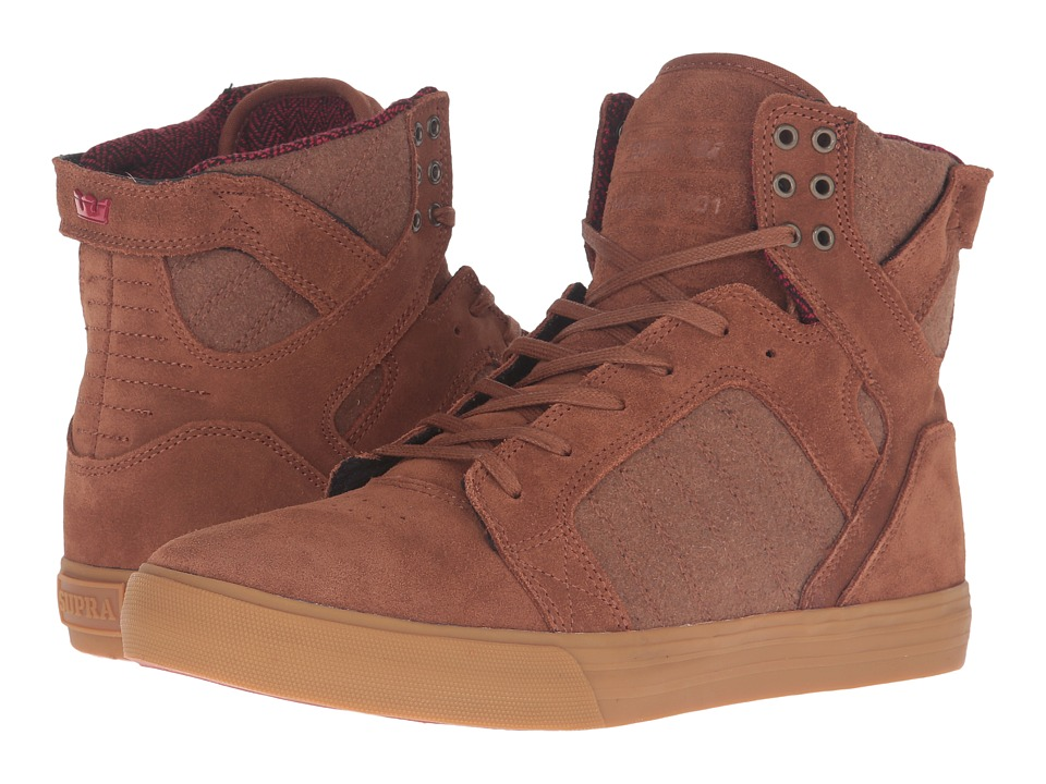 Supra Skytop (Brown Leather) Men