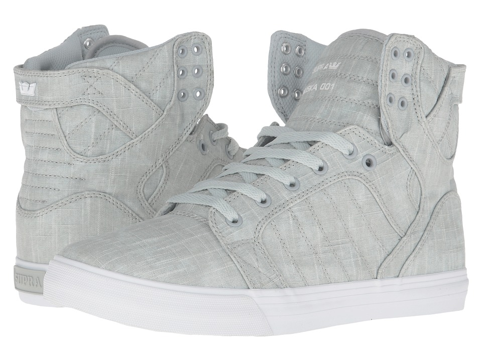 Supra Skytop (Washed Grey Canvas) Men