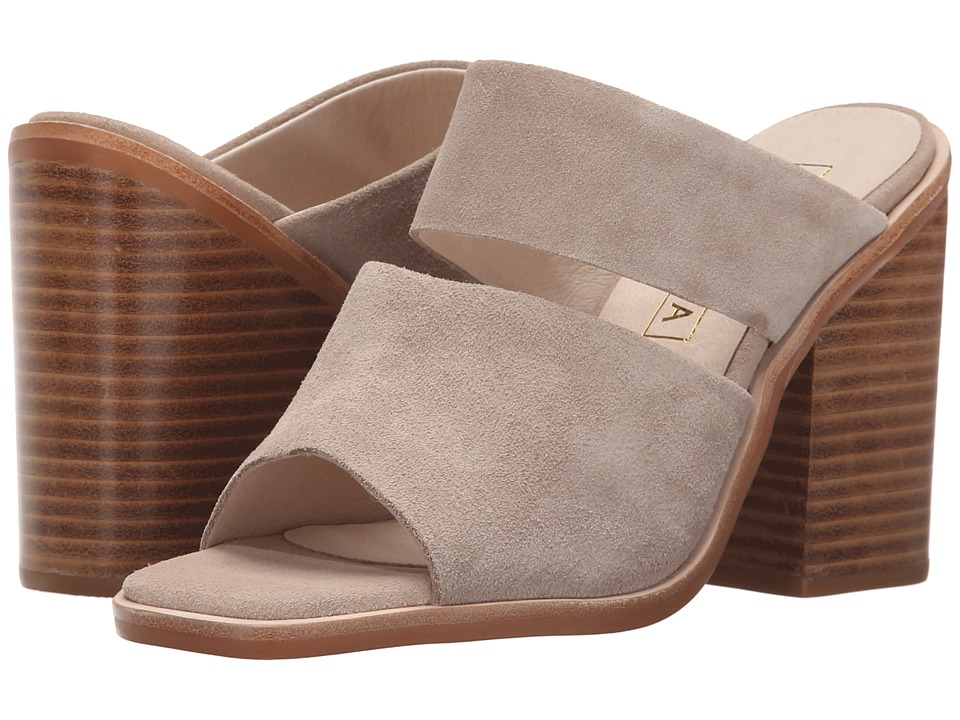 Sol Sana Dice Mule Taupe Suede Womens Clog/Mule Shoes