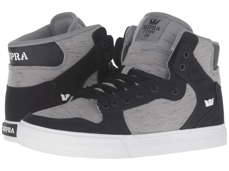Supra - Vaider (Black Canvas) Skate Shoes