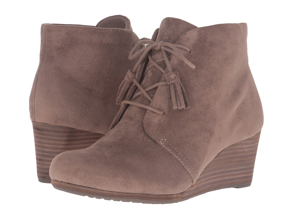 Dr. Scholls - Dakota (Stucco Microsuede) Womens Shoes