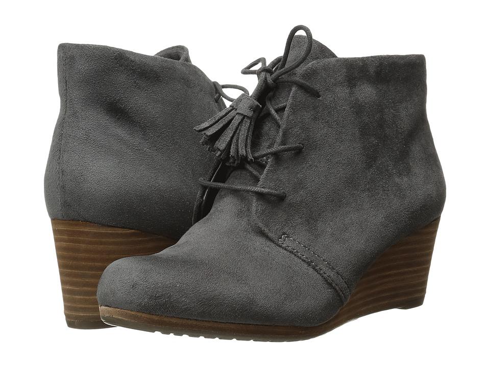 Dr. Scholl's Dakota (Grey Microsuede) Women's Shoes