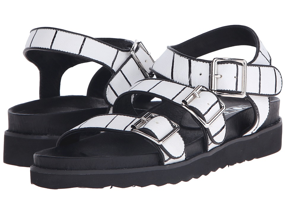 Sol Sana Dekota Sandal Stripe Print Womens Sandals